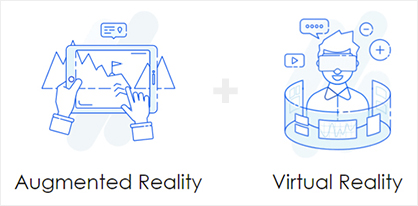 augmented reality versus virtual reality ecommerce store