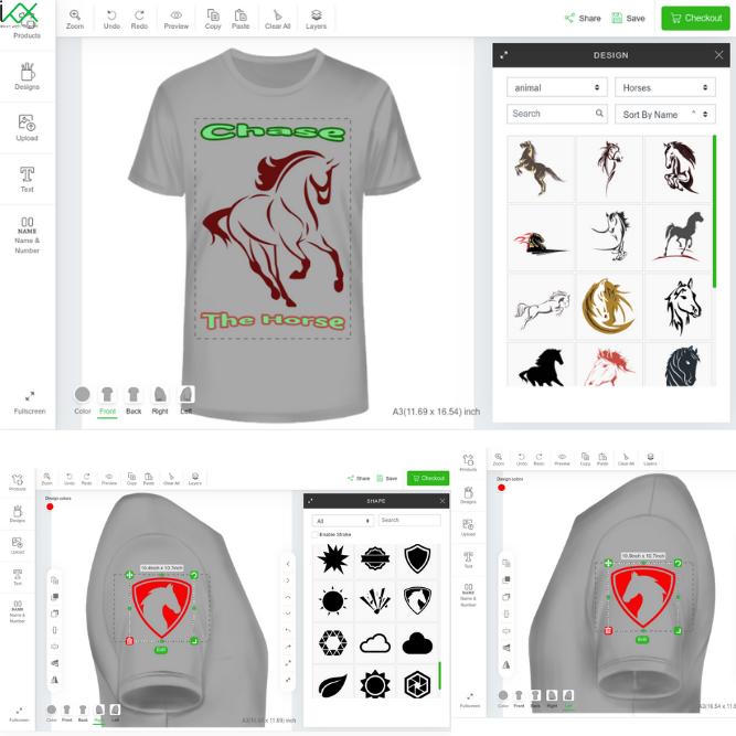 inkXE T-shirt Design Software
