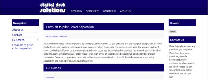 www.digitaldesksolutions.com-Color Separation Software For Screen Printers