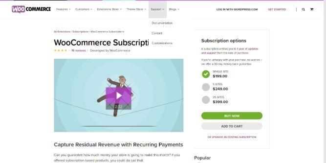 WooCommerce Subscriptions - woocommerce app,plugin