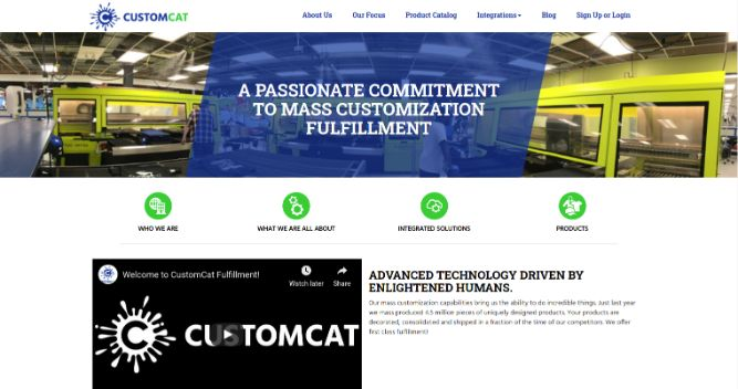 Customcat- Print Fulfilment Center
