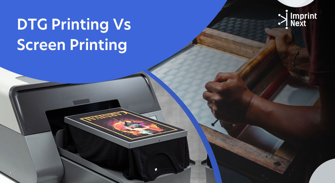 DTG Printing Vs Screen Printing – Which One is Better?