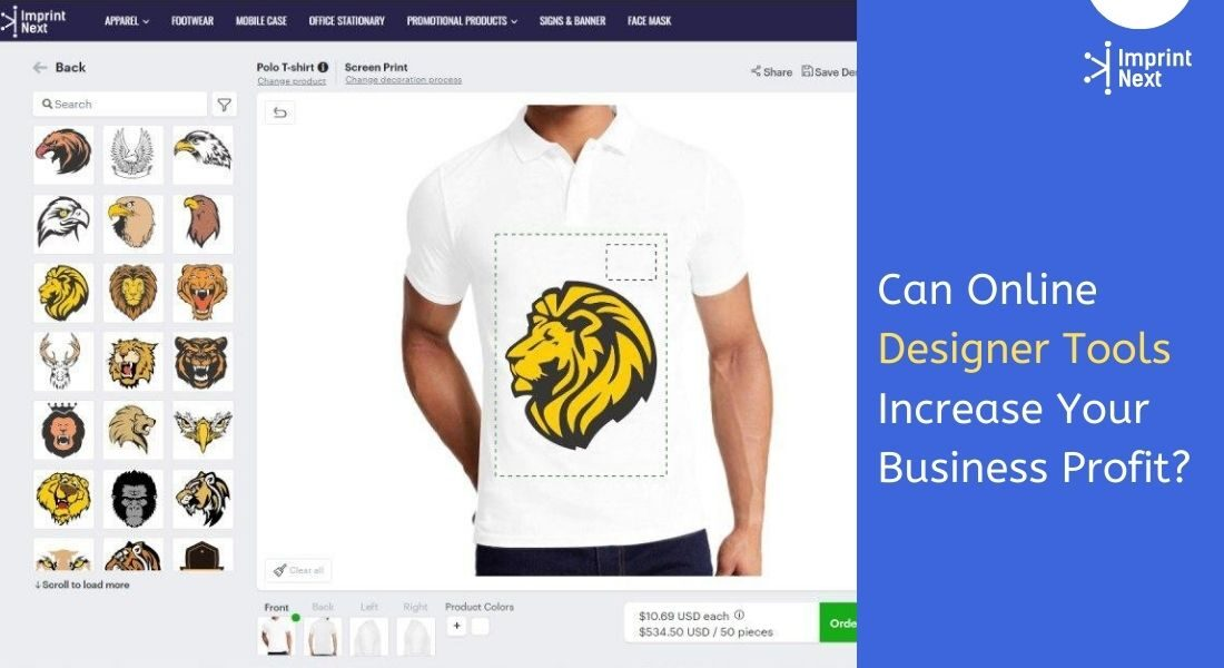Online designer Tool
