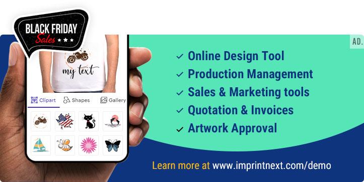 Web to print app for Printers & Decorators