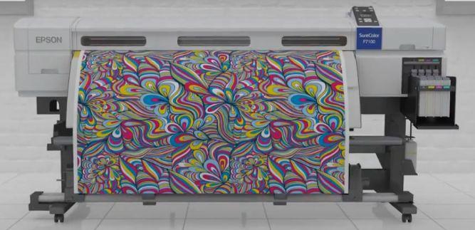 Epson SureColor SC-F7270 sublimation printer