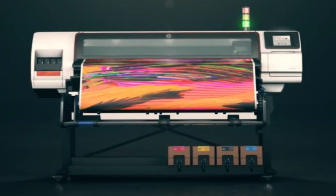 HP Stitch S500 dye sublimation printer for shirts