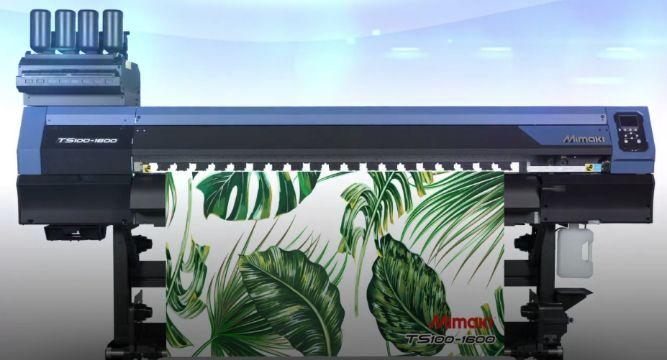 Mimaki TS100 sublimation transfer inkjet printer