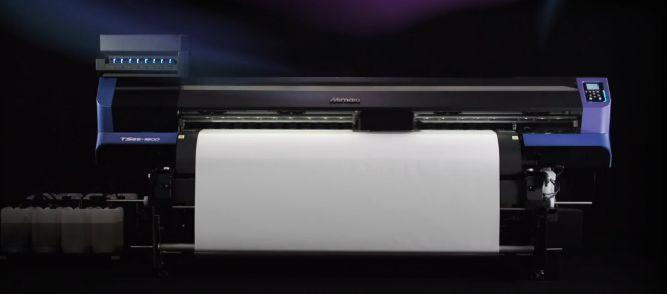 Mimaki TS55 dye sublimation printer