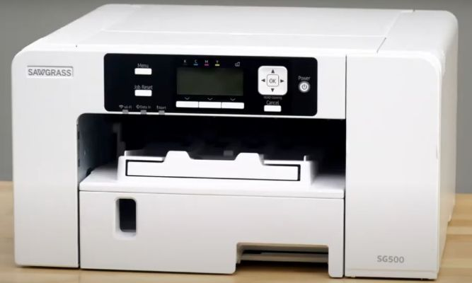 Sawgrass Virtuoso SG500 mini, compact sublimation printer for home-based business