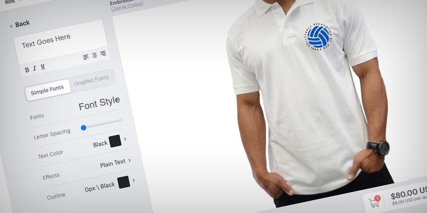 T shirt designer tool