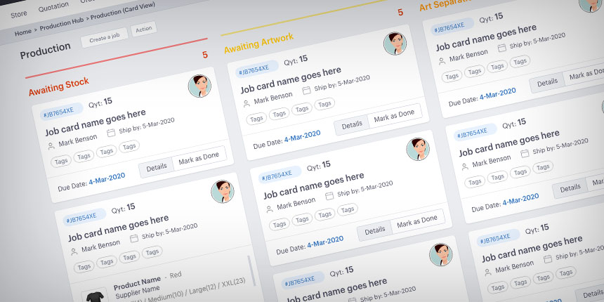 Create custom production workflows